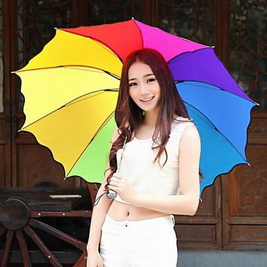 nylons moda / metal setenta por cento de desconto multicolor guarda-chuva moderno / contemporâneo / ocasional (cor aleatória)