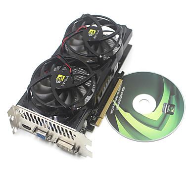 nvidia gt9800 512m GDDR3 de 256 bits PCI Express x16 cartão -black