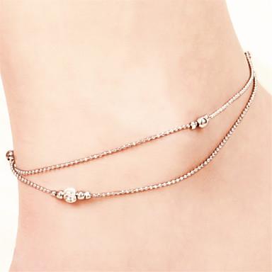 Enkelring /Armbanden Others Uniek ontwerp Modieus Koper Verzilverd Zilver Vrouwen Sieraden 1 stuks
