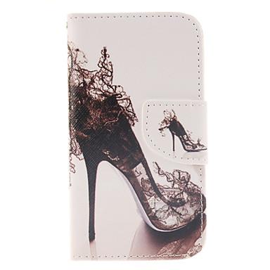 Para Samsung Galaxy Capinhas Porta-Cartão / Carteira / Com Suporte / Flip Capinha Corpo Inteiro Capinha Mulher Sensual Couro PU Samsung