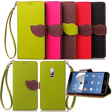 Capinha Para OnePlus Capinhas OnePlus Porta-Cartão Carteira Com Suporte Flip Capa Proteção Completa Côr Sólida Rígida PU Leather para