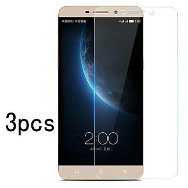 3pcs protetor de tela clara alta lcd cristal transparência com pano de limpeza para Huawei p8 Lite