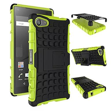 armadura resistente caso capa dura para 2015 Sony Xperia mini-z5 / silicone compacto z5 pele protetora dupla cor