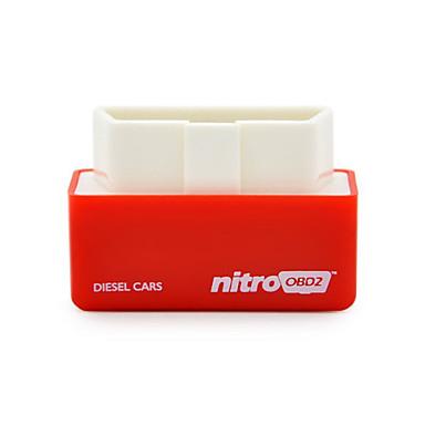 2016 chegada nova ficha de caixa de chip de nitroobd2 diesel afinação e interface de unidade de diesel