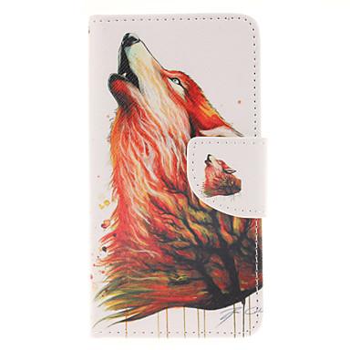 Capinha Para Samsung Galaxy Samsung Galaxy Capinhas Porta-Cartão Com Suporte Flip Magnética Estampada Capa Proteção Completa Animal PU