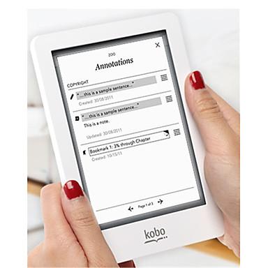 herdet glass beskyttende film skjermbeskytter universell for Kobo touch / glo / aura 6