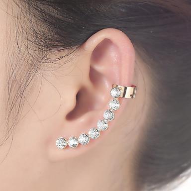 Γυναικεία Χειροπέδες Ear Στρας Κράμα Κοσμήματα Καθημερινά Causal Κοστούμια Κοσμήματα