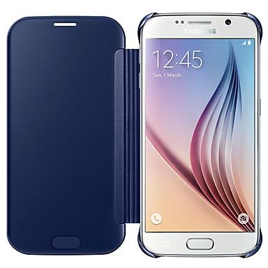 Недорогие Чехлы и кейсы для Galaxy S6-Кейс для Назначение SSamsung Galaxy S7 edge / S7 / S6 edge plus Покрытие Чехол Однотонный ПК