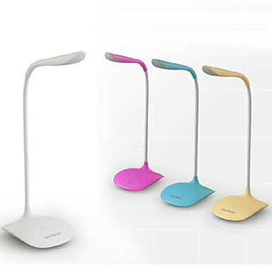 Modern / Contemporary LED Desk Lamp For PVC Yellow / Pink / Light Blue