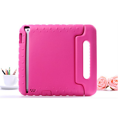Case For Apple Shockproof / with Stand Back Cover Solid Colored Hard EVA for iPad Air / iPad 4/3/2 / iPad Mini 3/2/1 / iPad (2017)