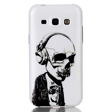 Para Samsung Galaxy Capinhas Case Tampa Estampada Capa Traseira Capinha Caveiras PUT para Samsung Galaxy J5 J1