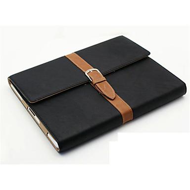 Capinha Para Apple iPad Mini 4 iPad Mini 3/2/1 Com Suporte Flip Capa Proteção Completa Côr Sólida Rígida PU Leather para iPad Mini 4 iPad