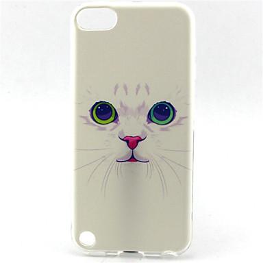 σχέδιο ζωγραφικής γάτας tpu μαλακή θήκη για iPod touch 5 ipod περιπτώσεις / καλύμματα