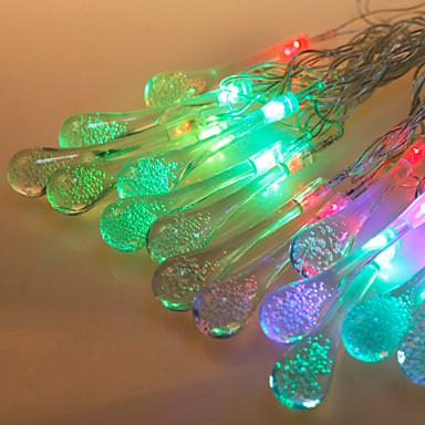 corda levou light-emitting diode f5 20led impermeável rgb IP65 ac180-240v 5m / lot
