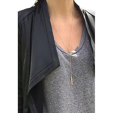Kadın's Uçlu Kolyeler / Y kolye / katmanlı Kolyeler - Moda Altın, Gümüş Kolyeler Uyumluluk Özel Anlar, Doğumgünü, Hediye