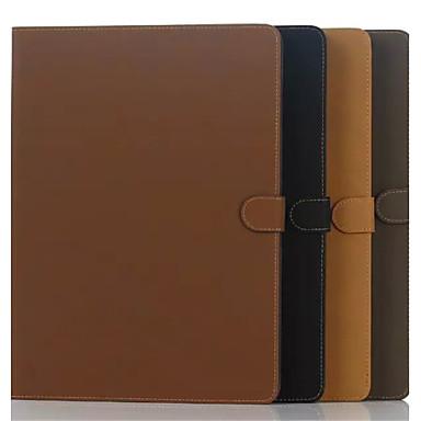 Capinha Para Porta-Cartão Com Suporte Capa Proteção Completa Côr Sólida PU Leather para iPad Pro 12.9''