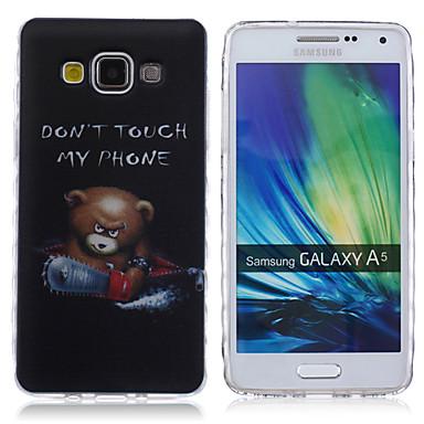 Capinha Para Samsung Galaxy Samsung Galaxy Capinhas Estampada Capa traseira Palavra / Frase TPU para A5 A3