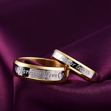 Ανδρικά Γυναικεία Band Ring Μοντέρνα Τιτάνιο Ατσάλι Κοστούμια Κοσμήματα Καθημερινά Causal