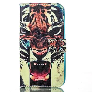 제품 삼성 갤럭시 케이스 케이스 커버 지갑 카드 홀더 스탠드 풀 바디 케이스 동물 소프트 인조 가죽 용 Samsung J5 J1