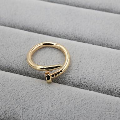 Anéis Ajustável Casamento / Pesta / Diário / Casual / Esportes Jóias Liga Feminino Anéis Grossos 1pç,Ajustável