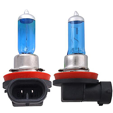 2pcs H11 Car Light Bulbs 55W 1300lm Halogen Headlamp