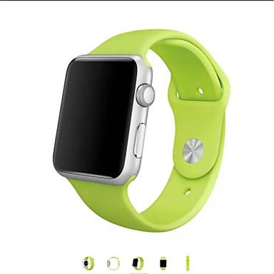 Pulseiras de Relógio para Apple Watch Series 3 / 2 / 1 Apple Tira de Pulso Pulseira Esportiva Silicone