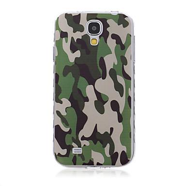 Capinha Para Samsung Galaxy Samsung Galaxy Capinhas Estampada Capa traseira Côr Camuflagem TPU para S6 edge plus S6 edge S6 S5 Mini S5 S4