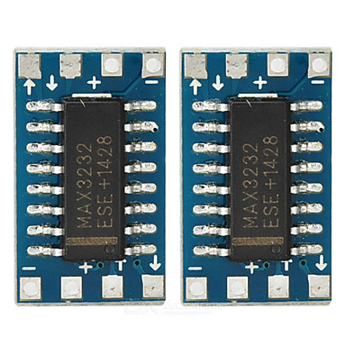 max3232cse mini RS232 seriële poort adapter boards TTL - diep blauw (2 stuks)