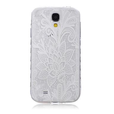 Para Samsung Galaxy Capinhas Transparente / Estampada Capinha Capa Traseira Capinha Flor TPU SamsungS6 edge plus / S6 edge / S6 / S5 Mini