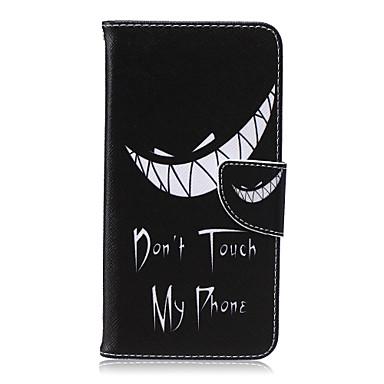 padrão de dentes caso de telefone pu material de couro cartão da aleta para iphone 6 Plus / 6s mais