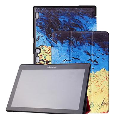 Capinha Para Lenovo Capa Proteção Completa Tablet Cases Estampado Rígida PU Leather para