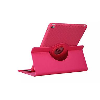 360 rotatie TPU lederen case Smart Cover ipad Mini3 flip gevallen met standaard functie voor Apple iPad 4/3/2 (assorti kleur)
