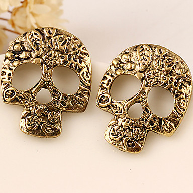 Dames Oorknopjes Gepersonaliseerde Modieus Europees Legering Schedel Sieraden Feest Halloween Dagelijks Causaal Kostuum juwelen