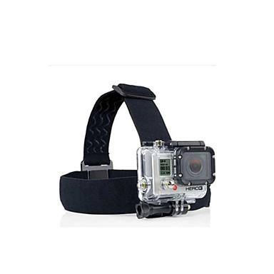 Helmhalterung / Kopfbänder / Träger Praktisch Zum Action Kamera Gopro 6 / Alles / Gopro 5 Nylon / Gopro 4 / Gopro 3 / Gopro 2 / Gopro 3+