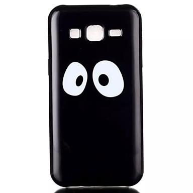Capinha Para Samsung Galaxy Samsung Galaxy Capinhas Estampada Capa Traseira Desenho Animado TPU para J2 J1 Grand Prime Grand Neo Core