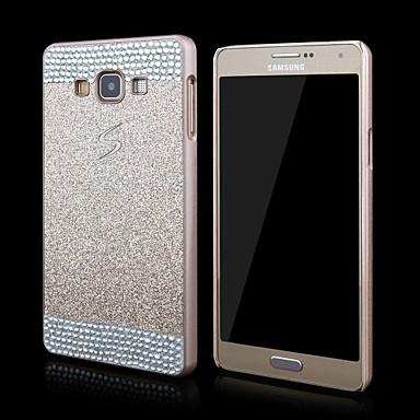 Capinha Para Samsung Galaxy Samsung Galaxy Capinhas Com Strass Capa traseira Glitter Brilhante PC para A3