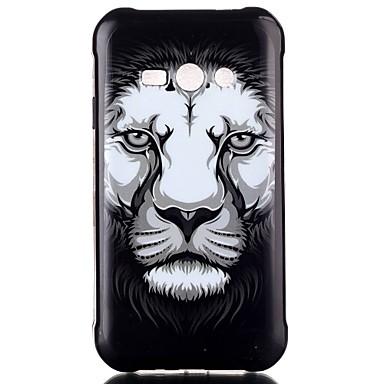 Voor Samsung Galaxy hoesje Hoesje cover Patroon Achterkantje hoesje dier TPU voor Samsung Galaxy J2 J1 Ace