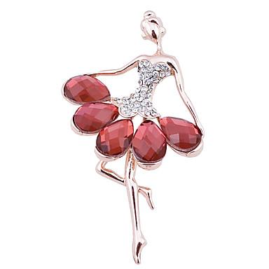 διαμάντι καρφίτσα γυναικών της μόδας.