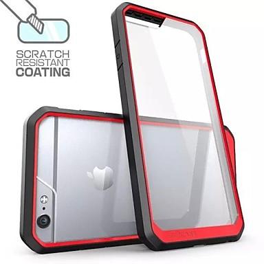 multicolor frame + anti bekrast mobiele telefoon Case voor iPhone 6 / 6s (assorti kleur)
