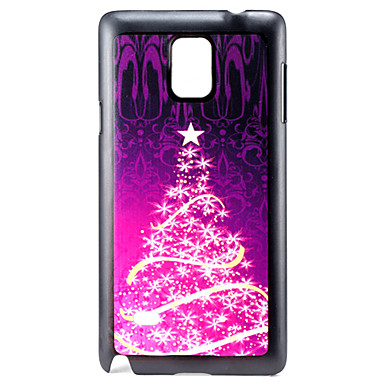 Voor Samsung Galaxy Note Patroon hoesje Achterkantje hoesje Kerstmis PC Samsung Note 4