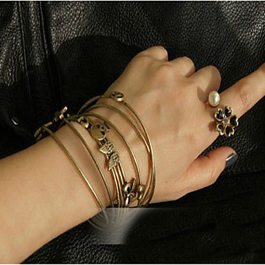 Damen Manschetten-Armbänder - Liebe Armbänder Für Alltag / Normal