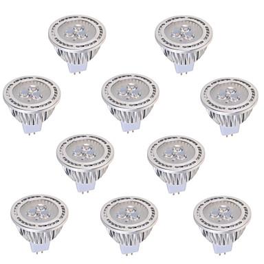 YWXLIGHT® 450 lm GU5.3 (MR16) LED-spotlampen MR16 3 leds COB Decoratief Warm wit Koel wit AC 12V DC 12V AC 85-265V