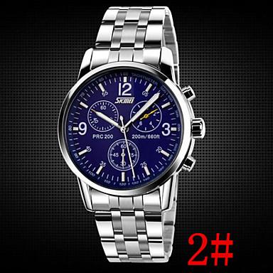 levne Pánské-Pánské Náramkové hodinky Letecké hodinky Křemenný Nerez Stříbro 30 m Voděodolné Analogové Aristo - 1# 2# 3#