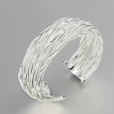 Dames Bangles Sterling zilver Sieraden Bruiloft Feest Dagelijks Causaal