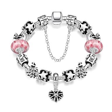 Heren Dames Bedelarmbanden Vintage Armbanden Verzilverd Legering Sieraden Voor Feest Dagelijks Causaal