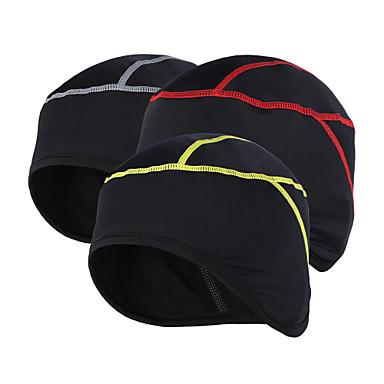 Arsuxeo Helmvoering Hoed Winter Houd Warm Ademend Anti-statisch Fietsen / Fietsen Unisex Elastaan Fleece Teryleen