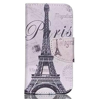 ijzertoren geschilderd pu telefoonhoesje voor ipod touch5 / 6 ipod hoesjes / hoesjes