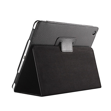 Case For Apple with Stand / Auto Sleep / Wake Full Body Cases Solid Colored PU Leather for iPad 4/3/2