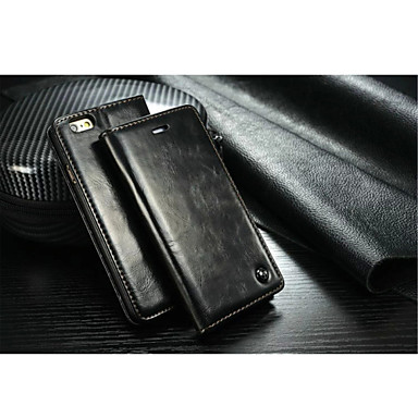 Capinha Para Apple iPhone X iPhone 8 iPhone 6 iPhone 6 Plus iPhone 7 Plus iPhone 7 Porta-Cartão Com Suporte Capa Proteção Completa Côr