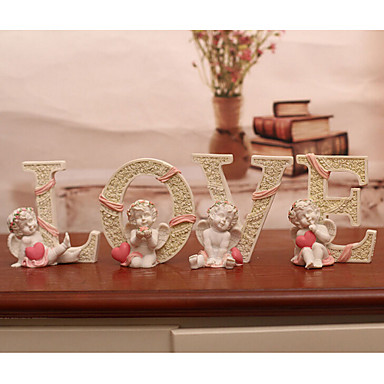 Casamento Aniversário Noivado Dia Dos Namorados Ano Novo Resina Decorações do casamento Tema Jardim Tema Clássico Tema Fadas Primavera